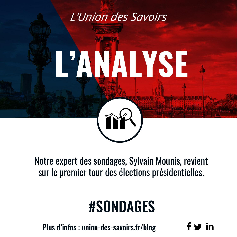 Conférence débat Paris think tank experts networking vulgarisation analyse sondages premier tour élection présidentielle
