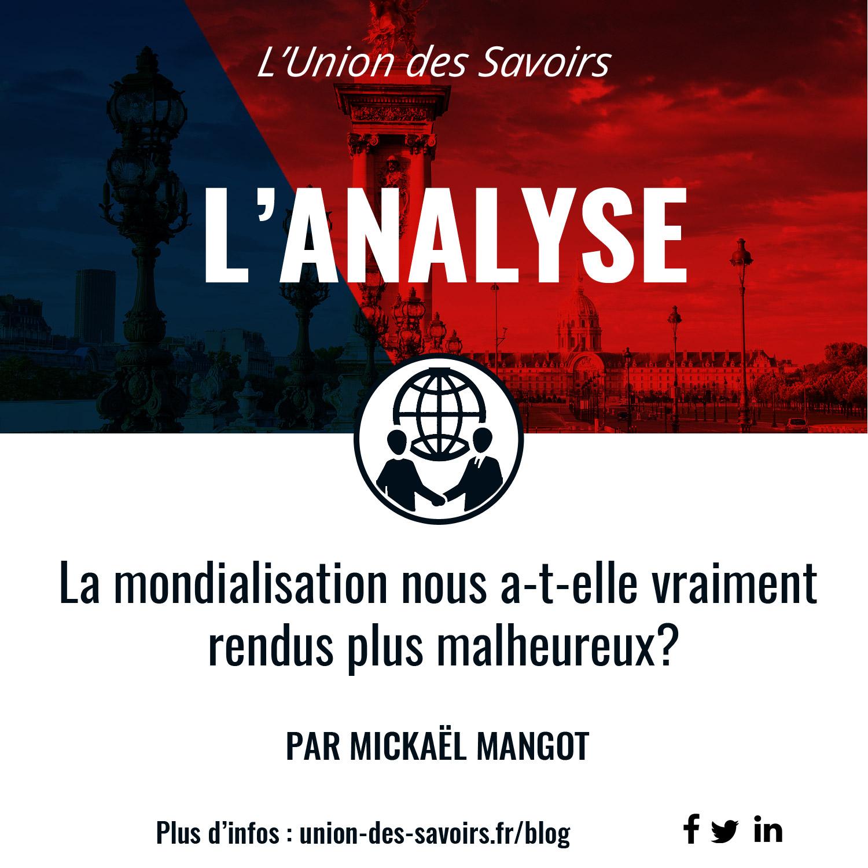 Conférence débat Paris think tank experts networking vulgarisation économie bonheur mondialisation