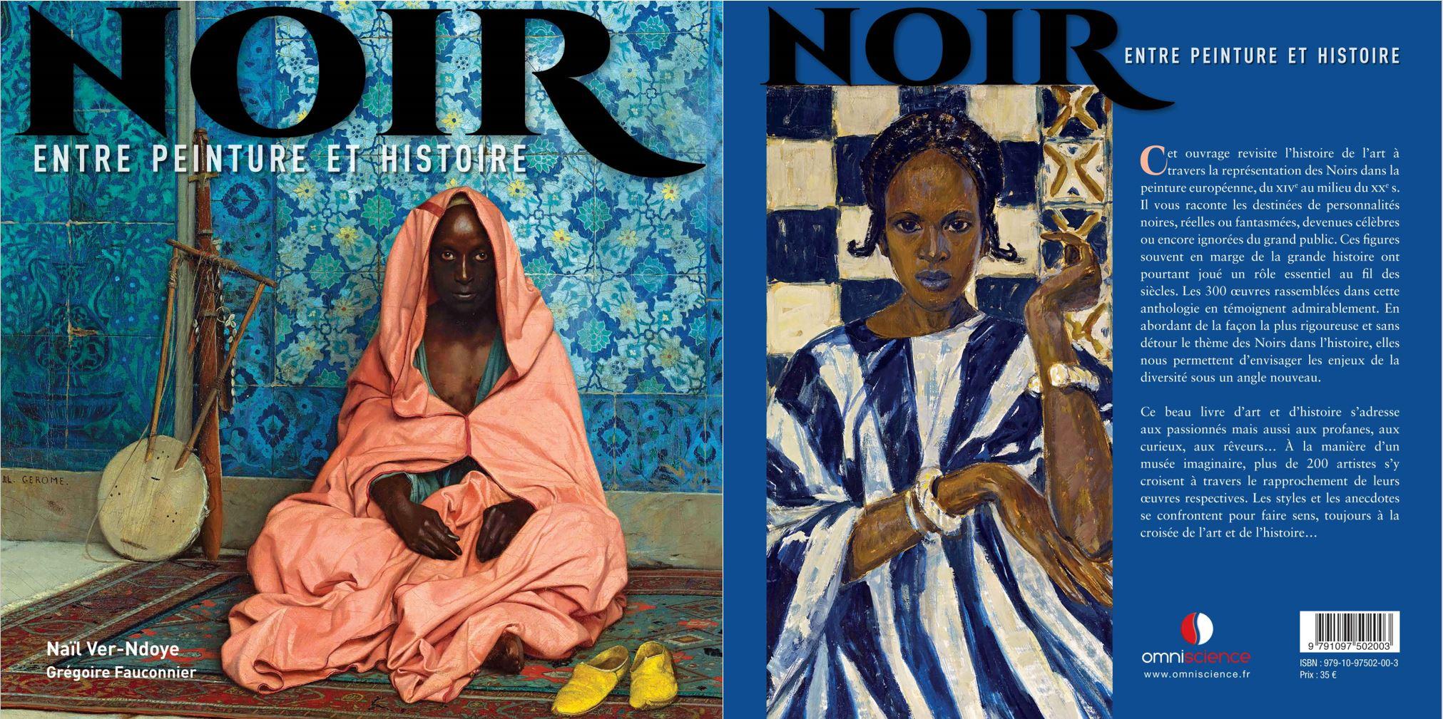 Livre histoire de l'art peinture Noirs